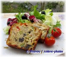 Cake Thon Courgette Pesto
